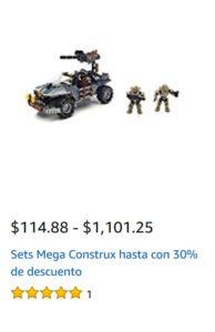 Amazon Oferta Mega Construx