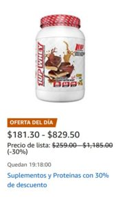 Amazon Oferta Proteínas y Suplementos