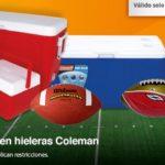 Chedraui Oferta Balones y Hieleras Coleman