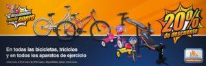 Chedraui Oferta Bicicletas, Triciclos y Más