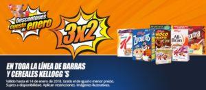 Chedraui Oferta Cereales y Barras Kellog's