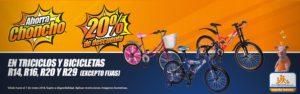 Chedraui Oferta Triciclos y Bicicletas