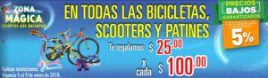 Comercial Mexicana Oferta Bicicletas, Scootesr y Patines