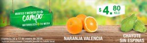 Comercial Mexicana Ofertas Martes y Miércoles del Campo Enero 16