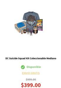 Elektra Oferta Kit Suicide Squad