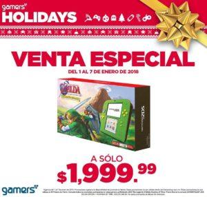 Gamers Oferta Nintendo 2DS Zelda