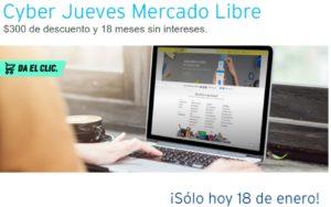 Mercado Libre Cyber Jueves Citibanamex Enero 18
