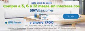 Sam's Club Promoción Bancomer