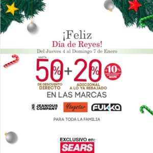 Sears Oferta Marcas Seleccionadas