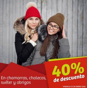 Soriana Oferta Chamarras, Chalecos, Suéteres y Abrigos