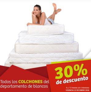Soriana Oferta Colchones Enero 22