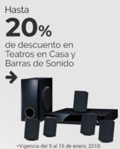 Soriana Oferta Teatros en Casa y Barras de Sonido