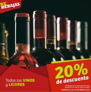 Soriana Oferta Vinos y Licores