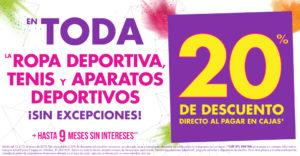 Suburbia Oferta Ropa Deportiva, Tenis y Aparatos Deportivos