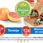 Walmart Ofertas Martes de Frescura Enero 30