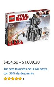 Amazon Oferta Sets Lego