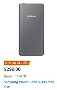 Amazon Oferta Power Bank