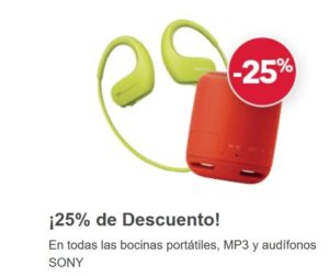 Best Buy Oferta Bocinas, Mp3 y Audífonos Sony