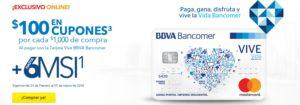 Best Buy Promovión Vive BBVA Bancomer