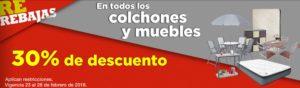 Comercial Mexicana Oferta Muebles y Colchones y Más