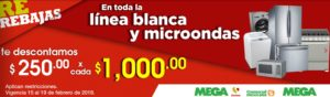 Comercial Mexicana Oferta Línea Blanca