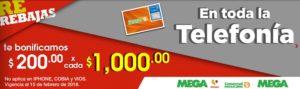 Comercial Mexicana Oferta Telefonía