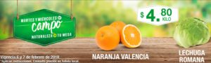 Comercial Mexicana Ofertas Martes y Miércoles del Campo Febrero 6