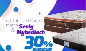 Famsa Oferta Colchones Sealy y Mybedtech