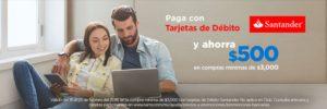 Walmart Promoción Débito Santander