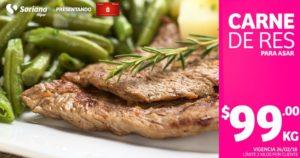 Soriana Oferta Carne de Res Febrero 24