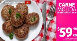 Soriana Oferta Carne Molida Febrero 7