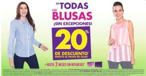 Suburbia Oferta Blusas Febrero 16