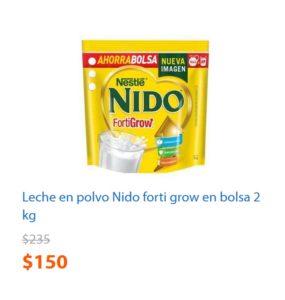 Walmart Oferta Leche Nido 2 Kg.