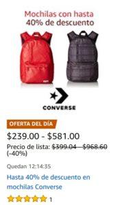 Amazon Oferta Mochilas Converse