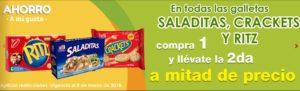 Comercial Mexicana Oferta Galletas Saladitas, Crackets y Ritz