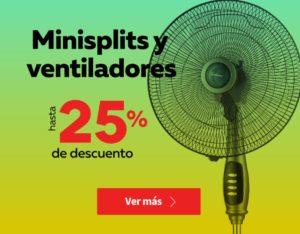 Elektra Oferta Minisplits y Ventiladores