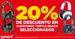 Gamers Oferta Audífonos Turtle Beach Marzo 26