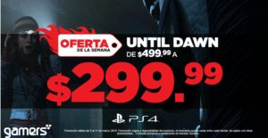 Gamers Oferta Until Dawn