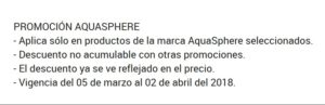 Martí Oferta Aquasphere