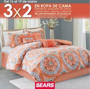 Sears Oferta Ropa de Cama Marzo 16