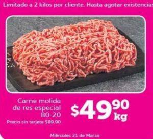 Soriana Oferta Carne Molida Marzo 21