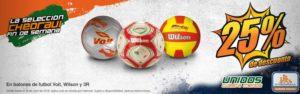 Chedraui Oferta Balones de Futbol