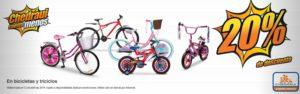 Chedraui Oferta Bicicletas y Triciclos