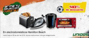 Chedraui Oferta Electrodomésticos Hamilton Beach