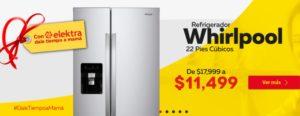 Elektra Oferat Refrigerador Whirlpool