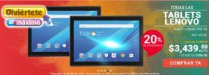 RadioShack Oferta Tablets Lenovo