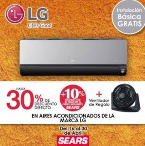 Sears Oferta Aires Acondicionados LG