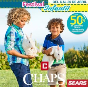 Sears Oferta Chaps Infantil