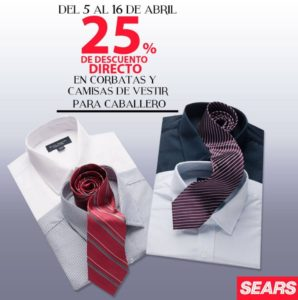 Sears Oferta Corbatas y Camisas