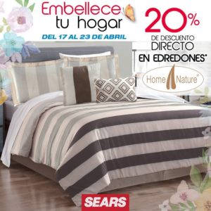 Sears Oferta Edredones Home Nature